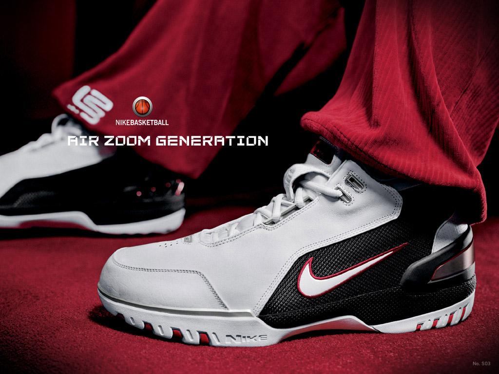 nike air zoom generazione lebron james 1 storia delle scarpe nike