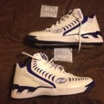 Spalding Basketball Shoe - Jimmer Fredette Sample Sacramento Kings