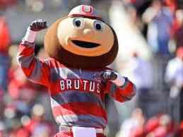 Brutus Buckeye Ohio State Mascot - 10 Best Ohio State Buckeyes Sneakers Of All Time