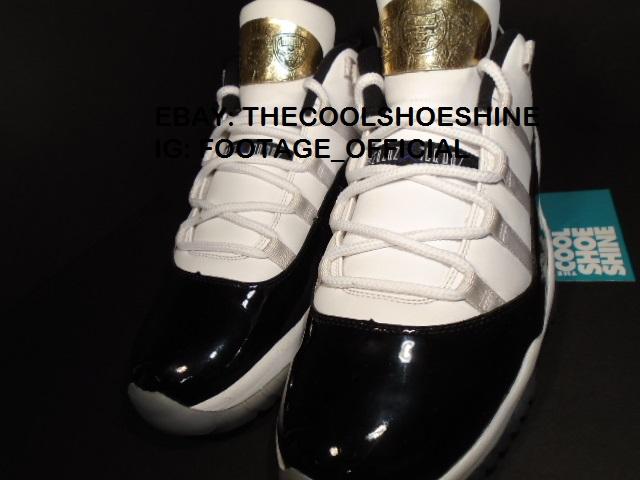 Michael Jordan's 6 Rings Edition Jordan 11s - Sample - Concord - Playoffs