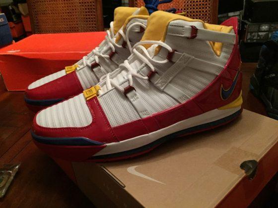 Nike LeBron 3 Superman Alternative Colorway