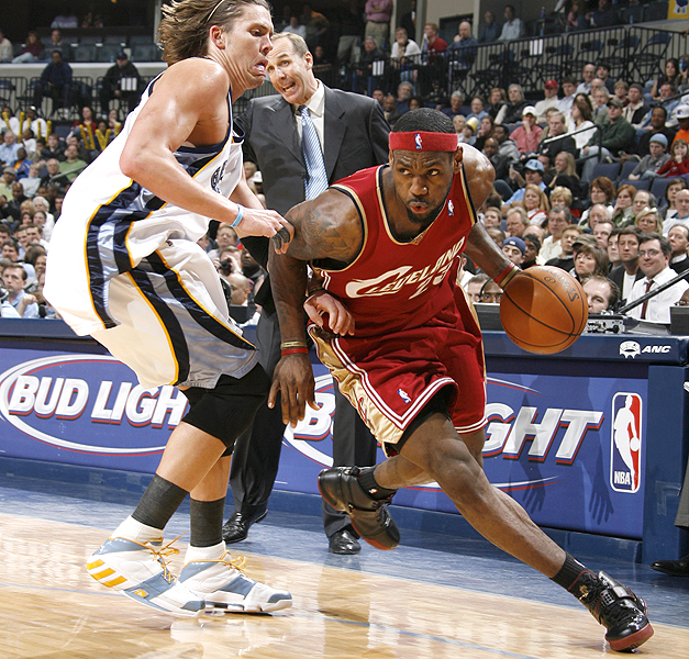 LeBron James in LeBron V