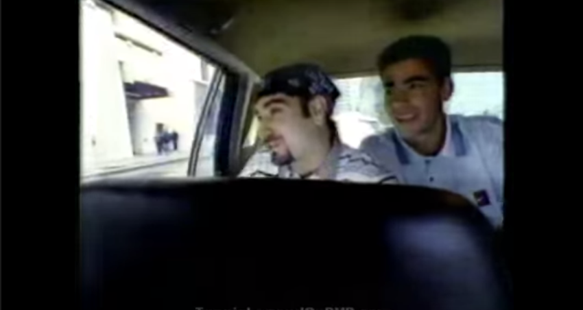 Nike Guerilla Tennis featuring Andre Agassi and Pete Sampras