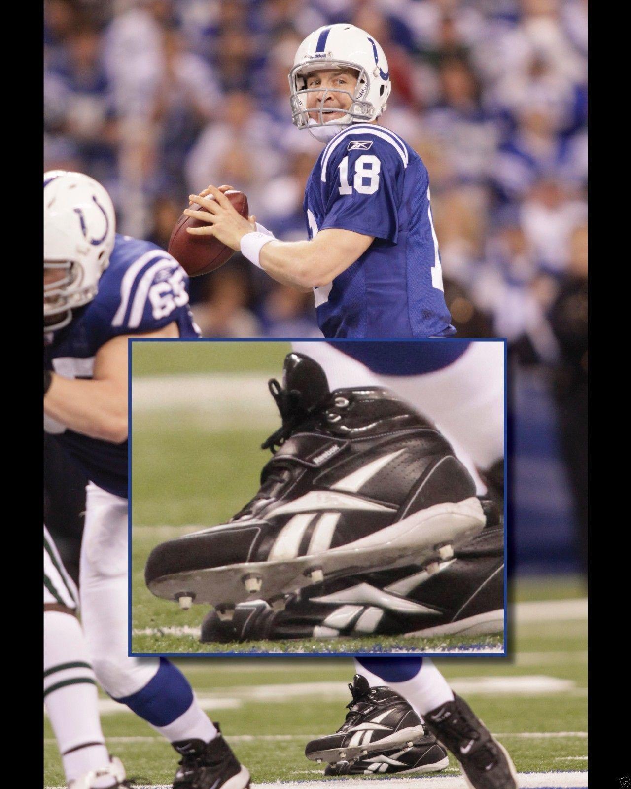 Peyton Manning Super Bowl Cleats