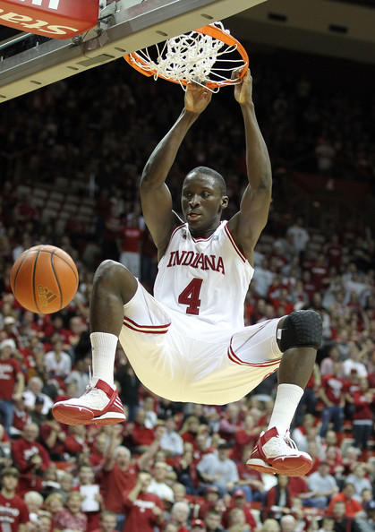 Victor Oladipo adidas Rose 2 Indiana PE - 2015 Slam Dunk Contest Preview - Photo courtesy of Zimbio