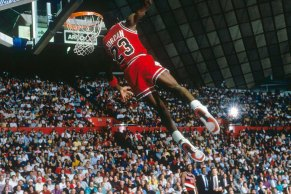 Michael Jordan 1987 Slam Dunk