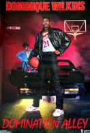 Dominique Wilkins - 21 Dunk Street Poster - Costacos Brothers