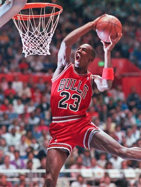 Michael Jordan 1987 Dunk Contest