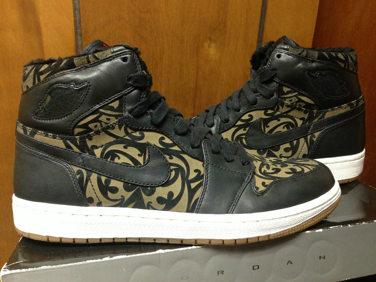 Velour Lined Jordan 1 Laser Samples