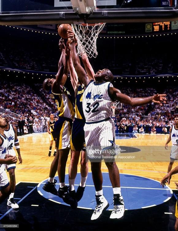 shaq game 7 efc 1995
