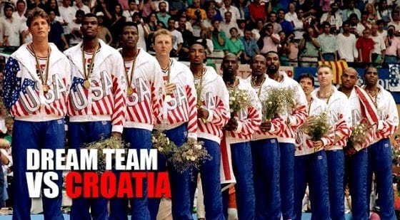 Dream Team Medal Stand. 1992.