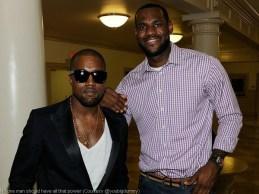LeBron James The Decision - Kanye West