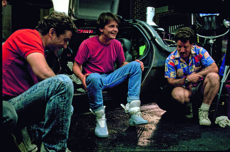Jordan 3s in Back To The Future