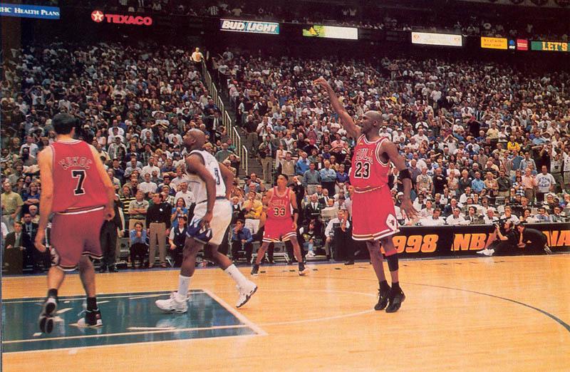 Michael Jordan's Last Shot