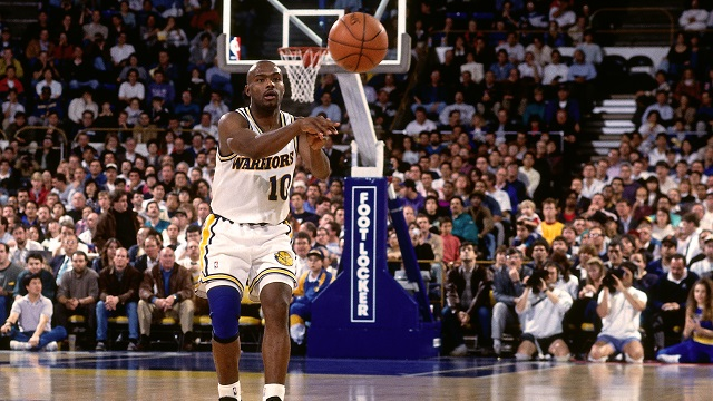 Tim Hardaway, Golden State Warriors, 1993.