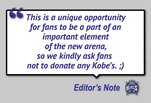 Kings New Arena Floor Made of Recycled Sneakers (No Kobe Bryant Shoes Allowed)
