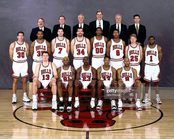 luc longley 1996-1997 championship team