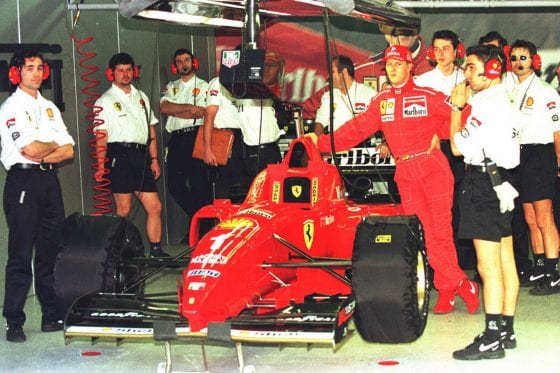 Michael Schumacher 1996