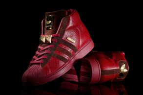 Big Sean adidas Pro Model Detroit Player Red