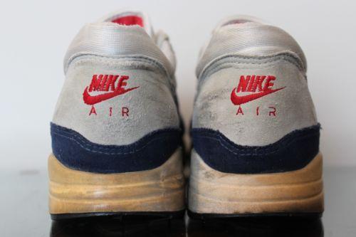 Vintage Sneakers - Original Nike Air Max 1 From 1987 – Sneaker ...