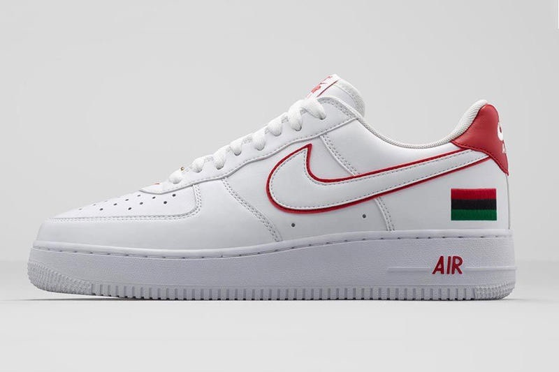 Black History Month Sneakers - Nike Air Force 1