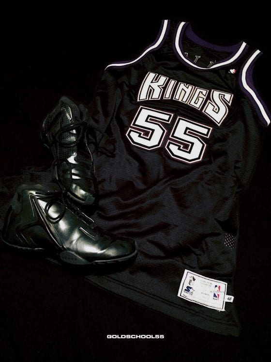 Jason Williams Game Worn Jersey & Nike Hyperflight Samples