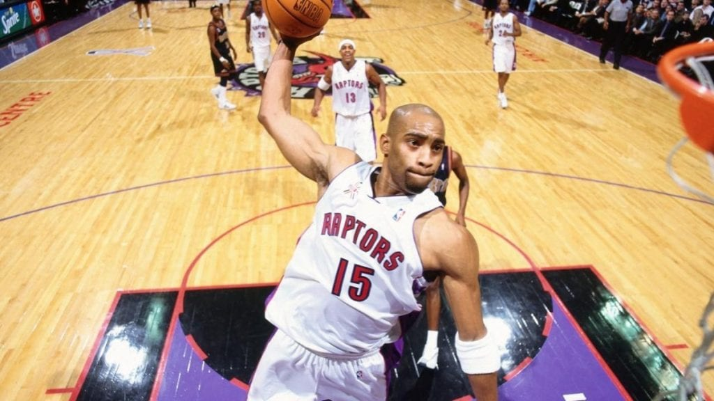 Vince Carter - Half Man, Half Amazing - 4 Decades Of High Flying Slam Dunks and Sneakers